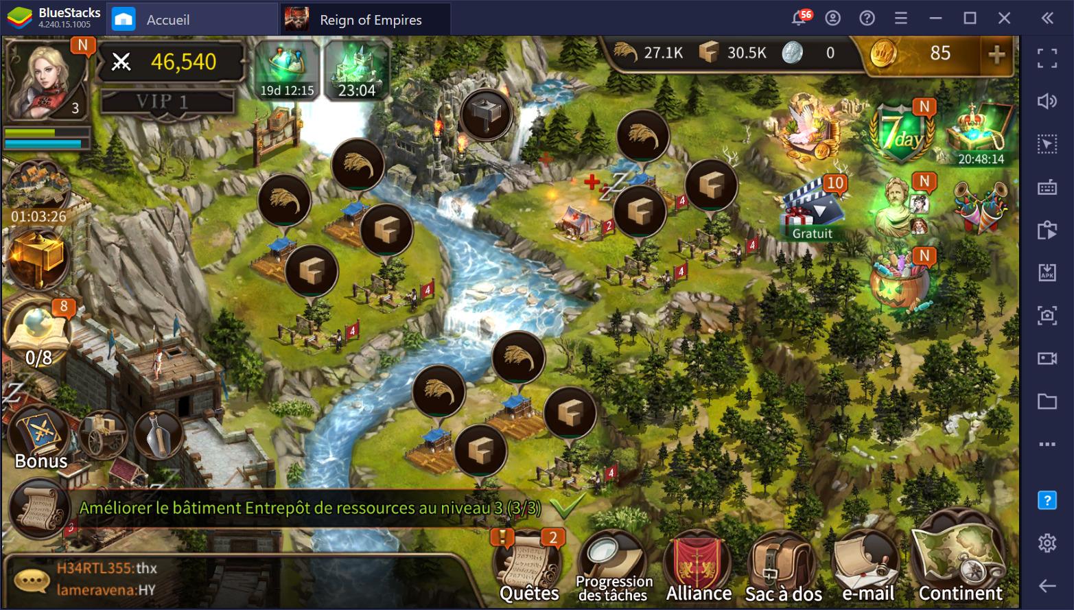 Guide débutant pour Reign of Empires – Le RTS tactique aux batailles épiques sur PC