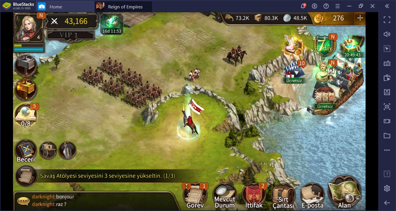 Reign of Empires – Epic Battle Tactics Asker ve Savaş Rehberi