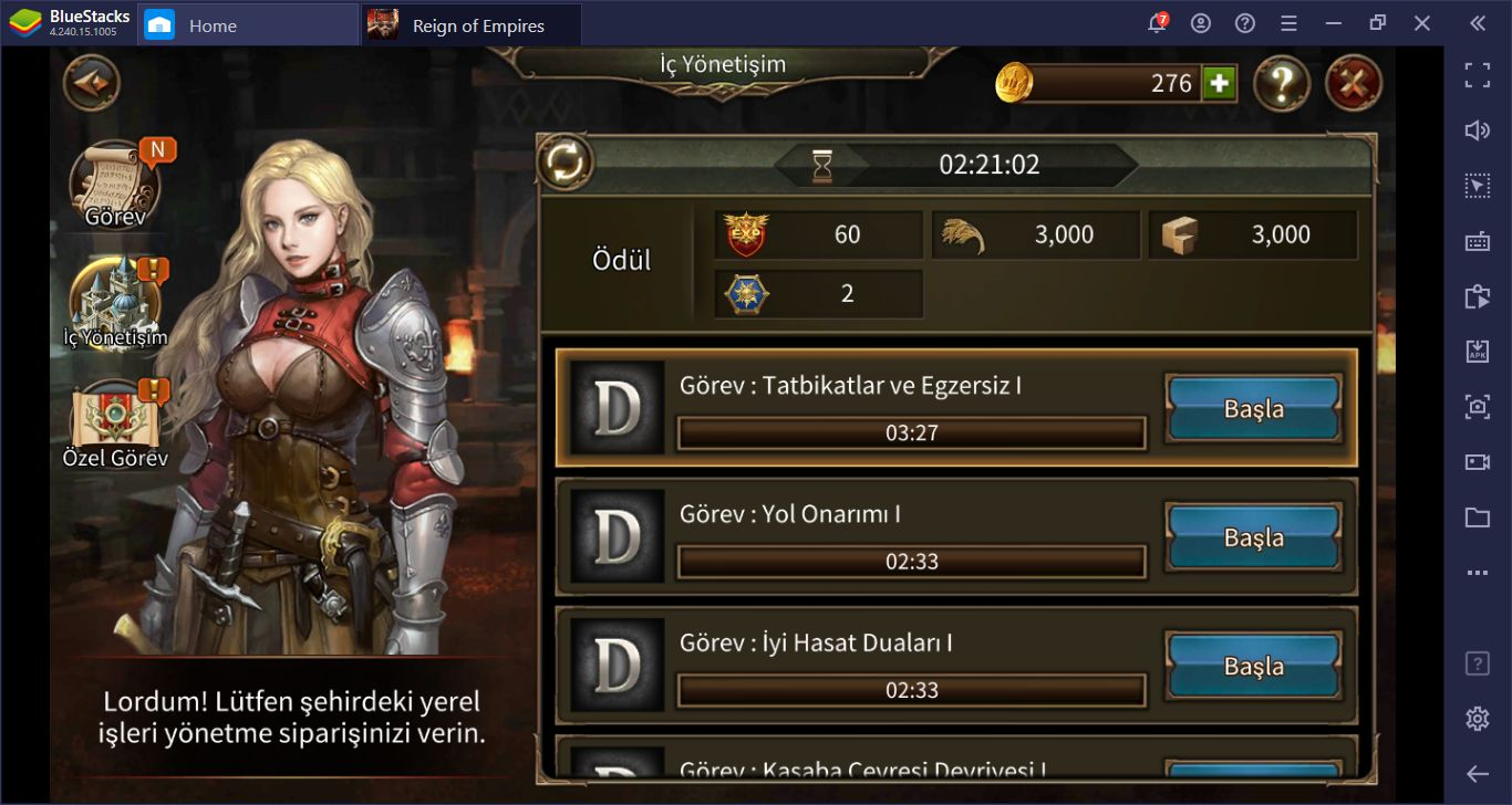 Reign of Empires – Epic Battle Tactics İpuçları