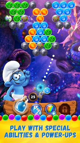 Play Smurfs Bubble Story on PC 6