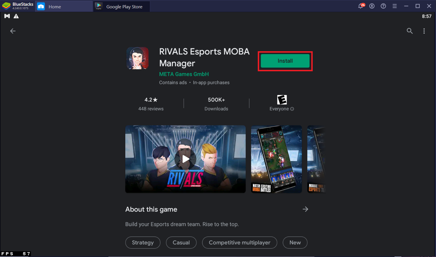 Be an Esports Manager – How to Play Rivals Esports MOBA Manager on PC with BlueStacks