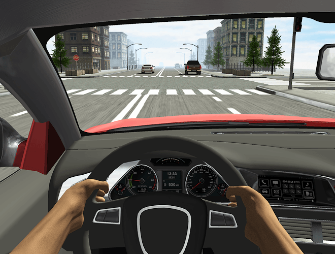 Play Racing in Car on pc 9