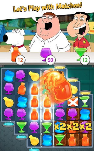 Play Family Guy Freakin Mobile Game on PC 5