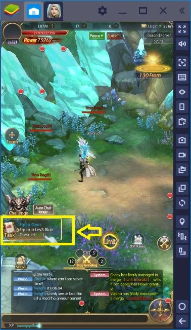 How To Increase Your Combat Power In Raider Origin MMORPG
