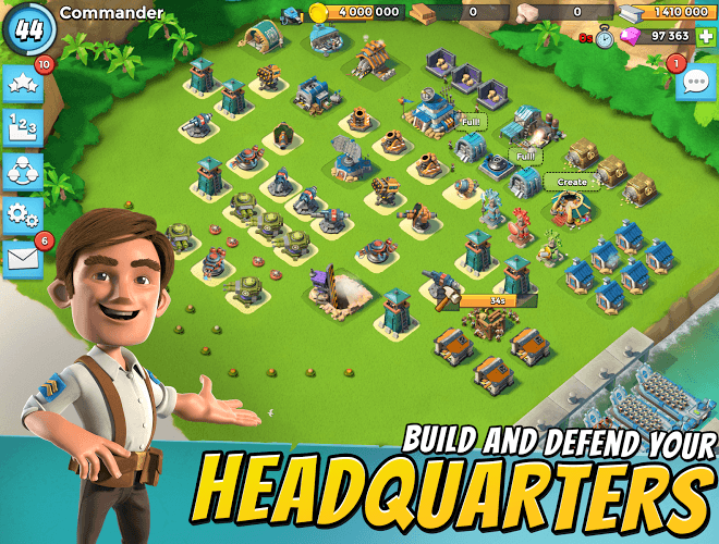 Play Boom Beach on PC 3