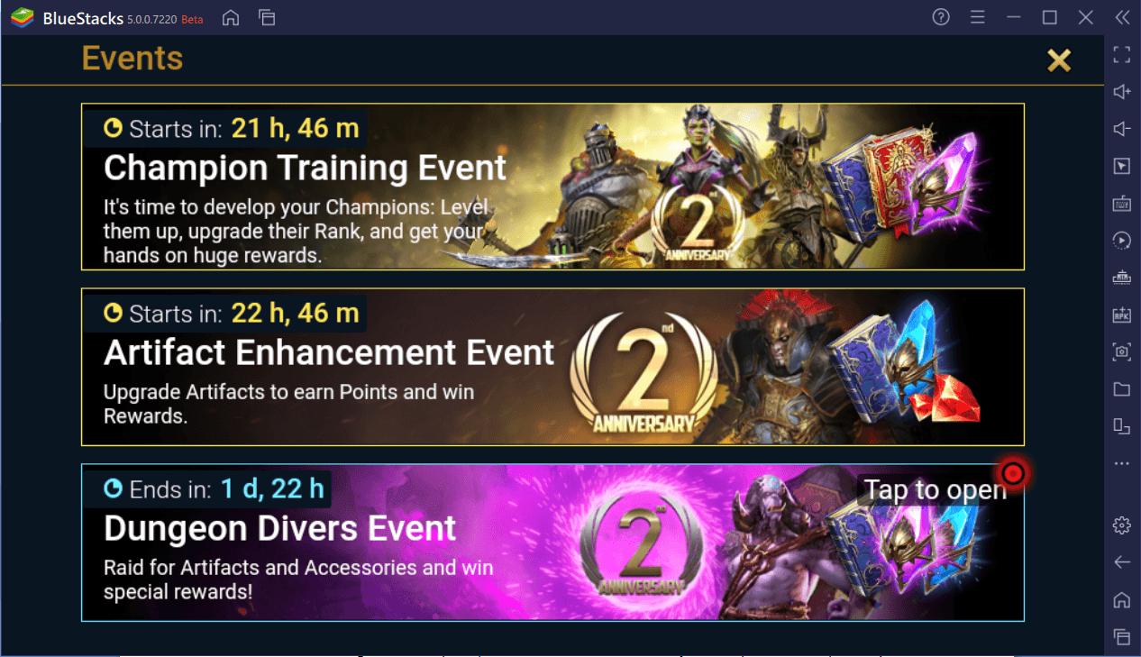 RAID: Shadow Legends: Feierlichkeiten zum Zweiten Jubiläum sind Live! Spannende Belohnungen, Events, und Turniere
