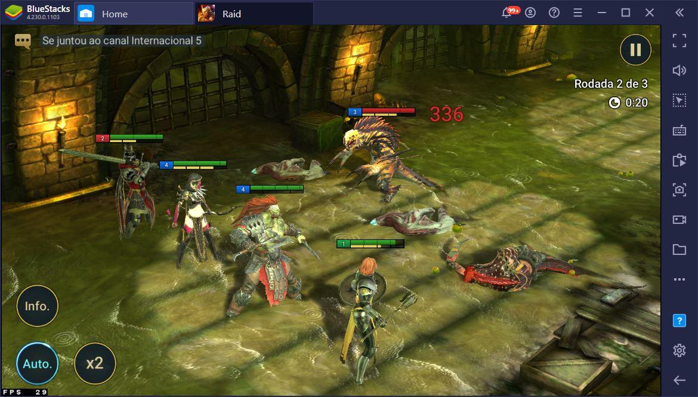 Aprenda como se dar bem nos combates de RAID: Shadow Legends