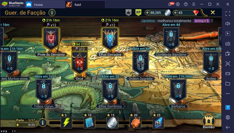 O Básico de RAID: Shadow Legends: Como jogar no PC usando o BlueStacks?