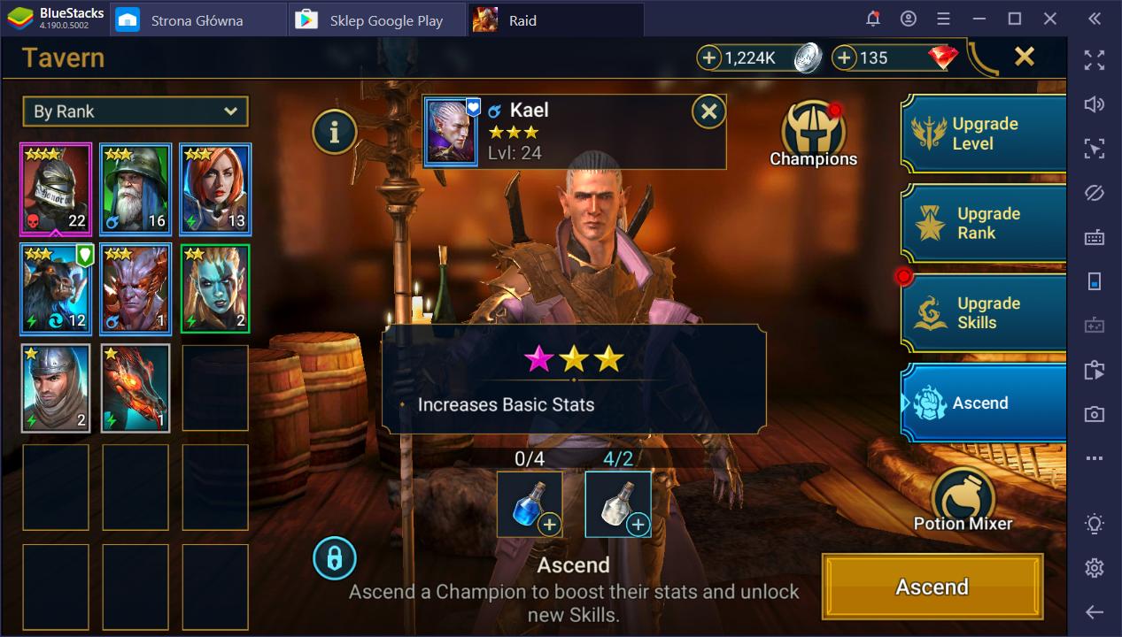RAID: Shadow Legends on PC - Farming