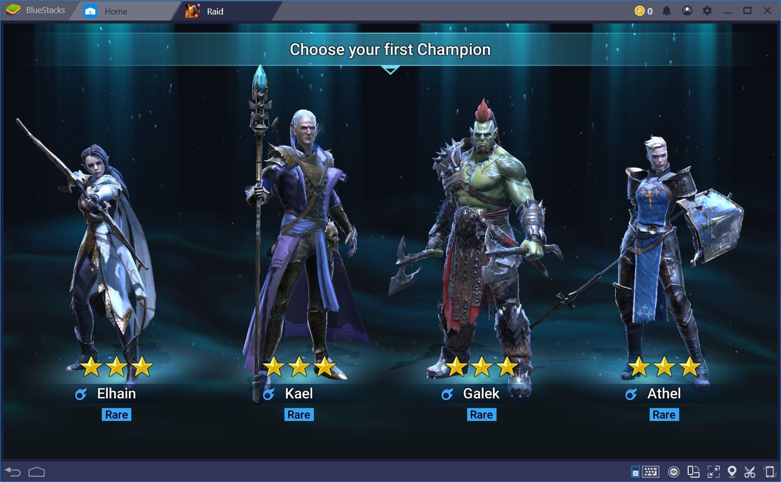 RAID: Shadow Legends على جهاز الكمبيوتر – أفضل بطل وإعداد مبكر للعبة