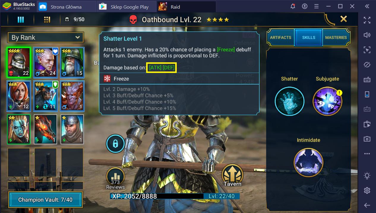 RAID: Shadow Legends na PC - jak poprawnie wyposażyć swoich bohaterów