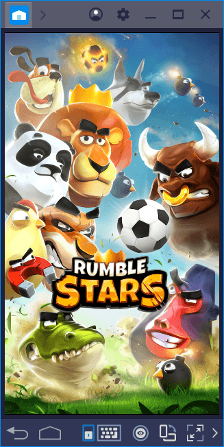 Rumble Stars: Goofy Characters, Serious Football