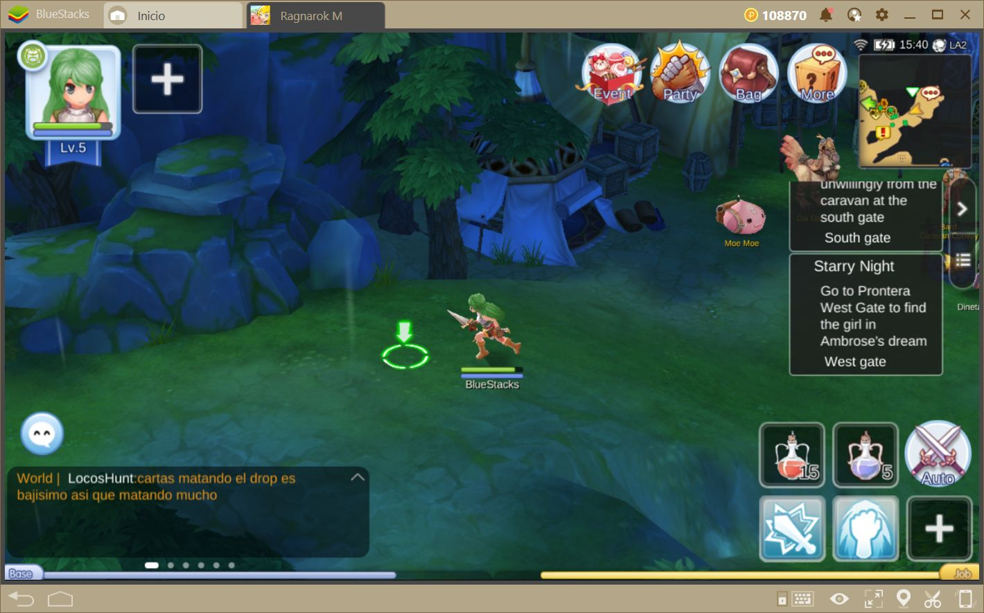 Ragnarok M: Eternal Love—¡Redescubre Rune-Midgard Con BlueStacks!