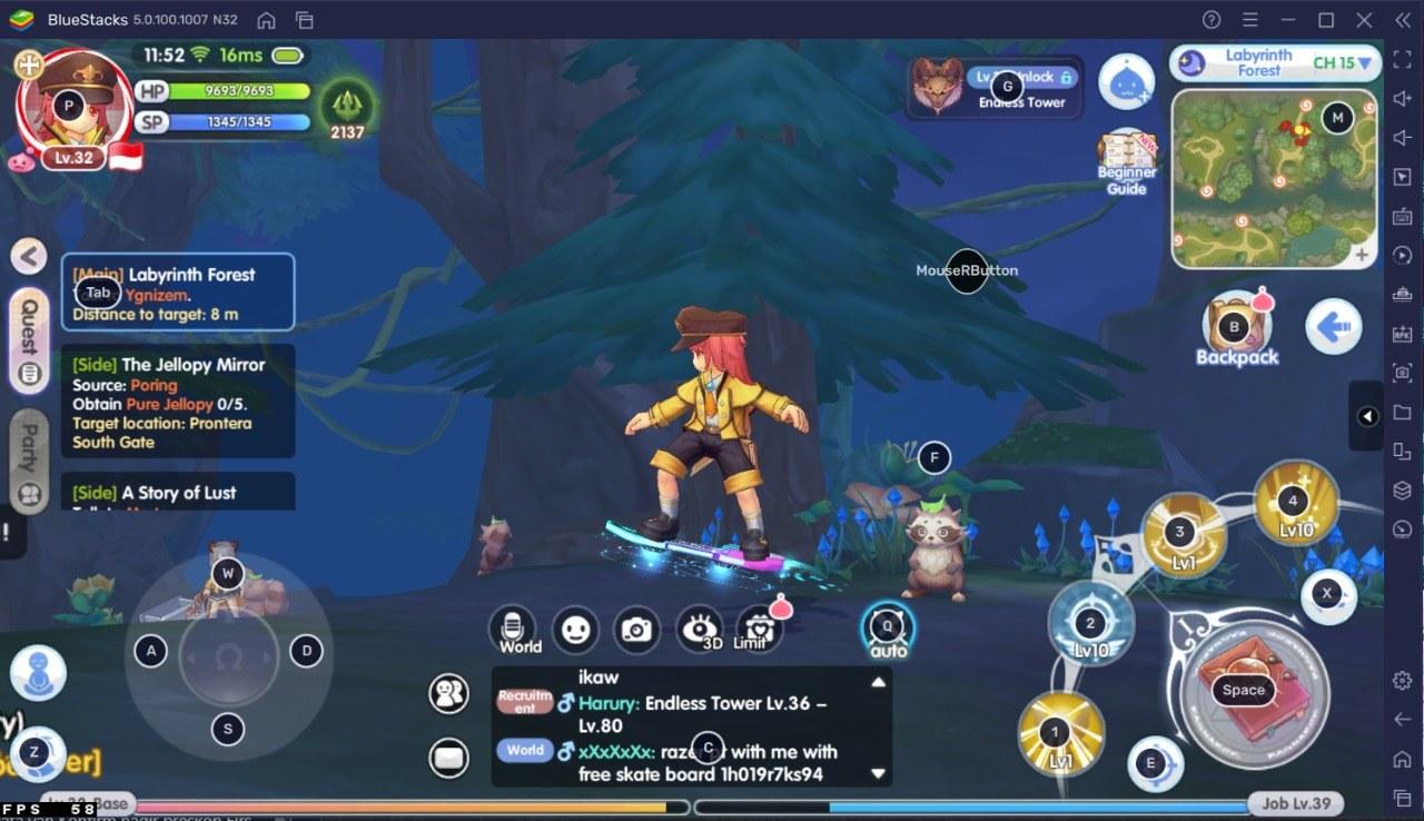 Guide Skill Build Acolyte – Ragnarok X: Next Generation