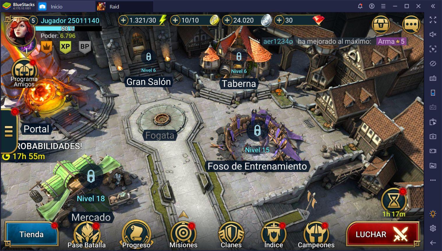 Parche 1.13 Para RAID: Shadow Legends - Todo lo que Hay de Nuevo