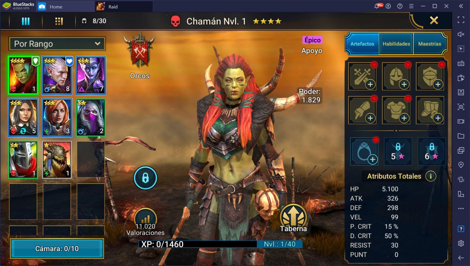 Detalles y Notas de la Actualización 3.20 de RAID: Shadow Legends