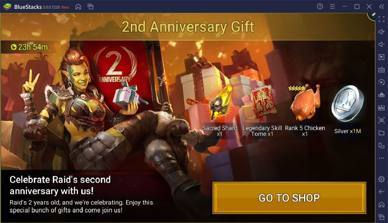 RAID: Shadow Legends – 2nd Anniversary Celebrations are Live! Exciting Rewards, Events, and Tournaments