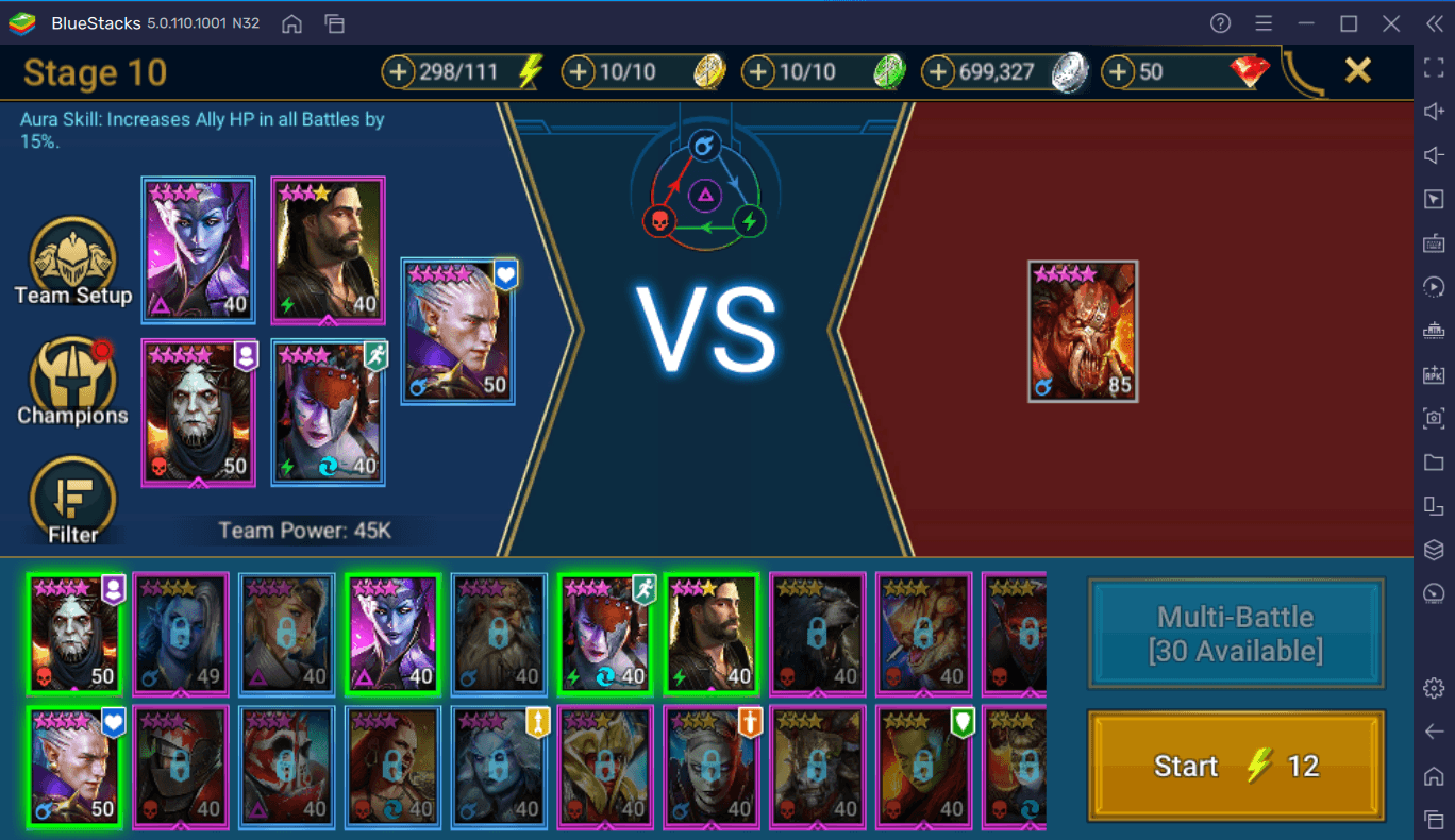 RAID: Shadow Legends Patch 4.30 – Saved Teams, Skill AI Management, Playtime Rewards update