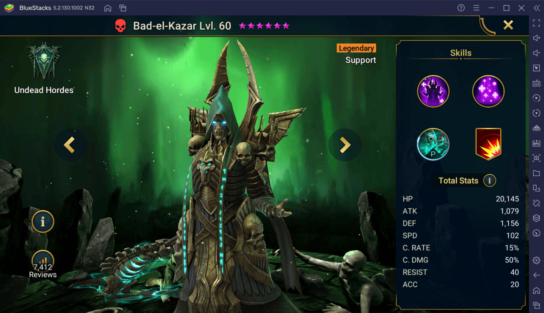 RAID: Shadow Legends – Bad El Kazar Champion Guide