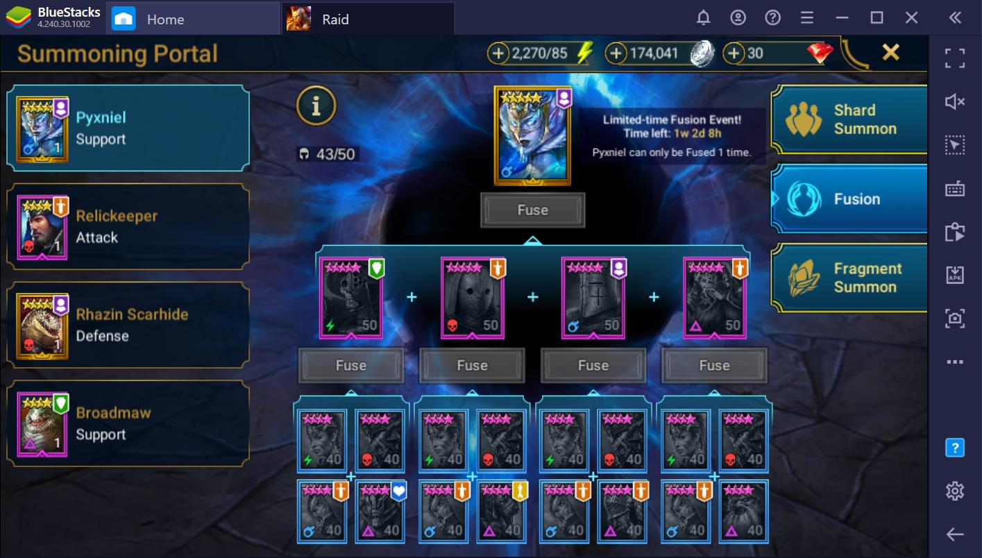 RAID: Shadow Legends – Christmas Fusion Champion Pyxniel Guide