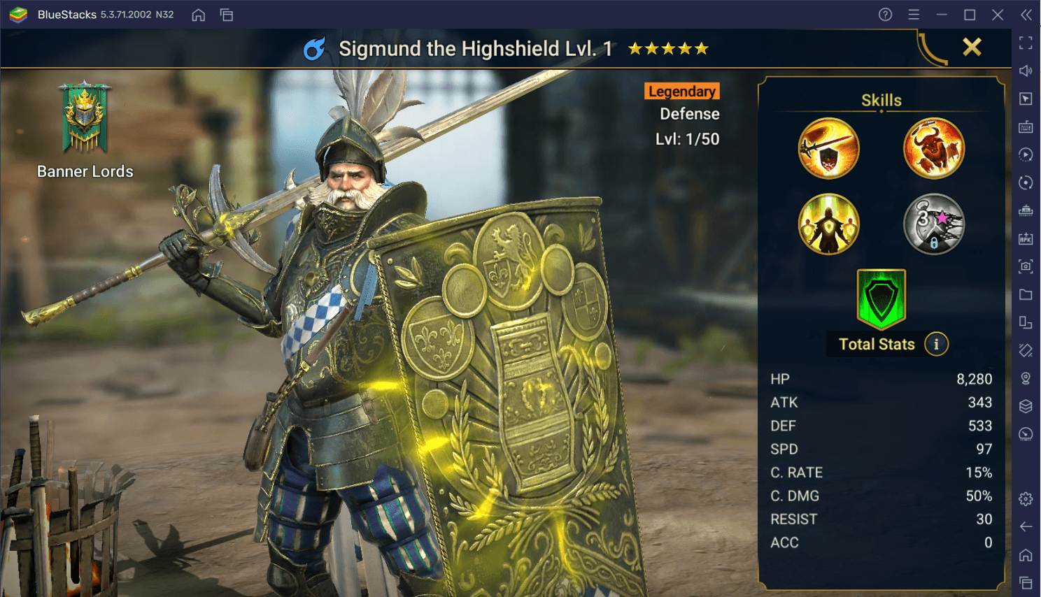RAID: Shadow Legends – Sigmund the Highshield Fusion Guide