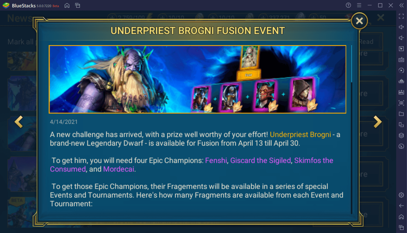 RAID: Shadow Legends – Underpriest Brogni Legendary Champion Fusion Guide