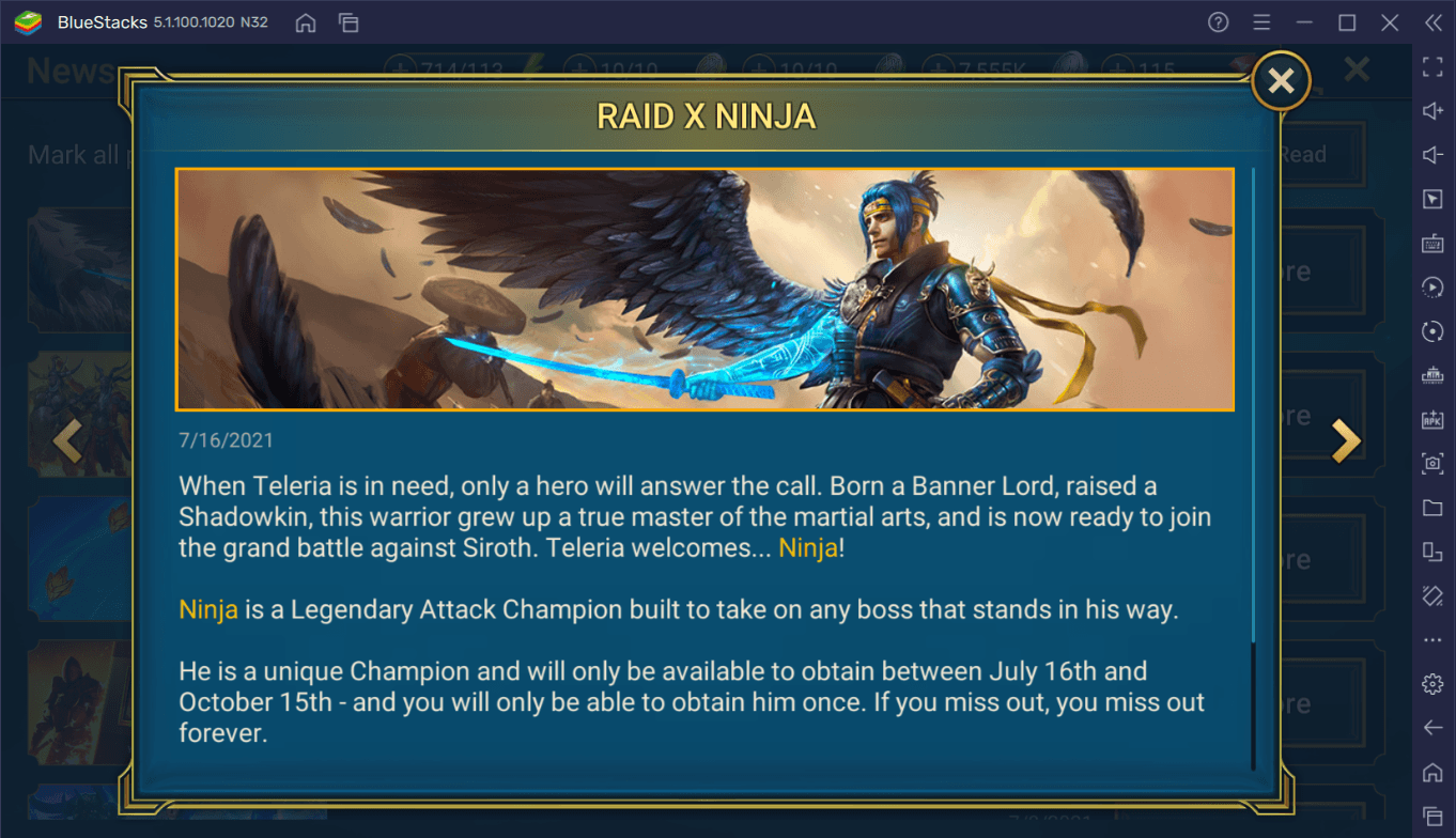 """RAID: Shadow Legends is Collaborating with Tyler """"Ninja"""" Blevins with his In-Game Character"""