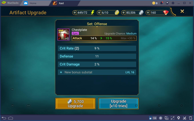 RAID: Shadow Legends على جهاز الكمبيوتر – كيف تهيئ أبطالك لتحقيق النصر