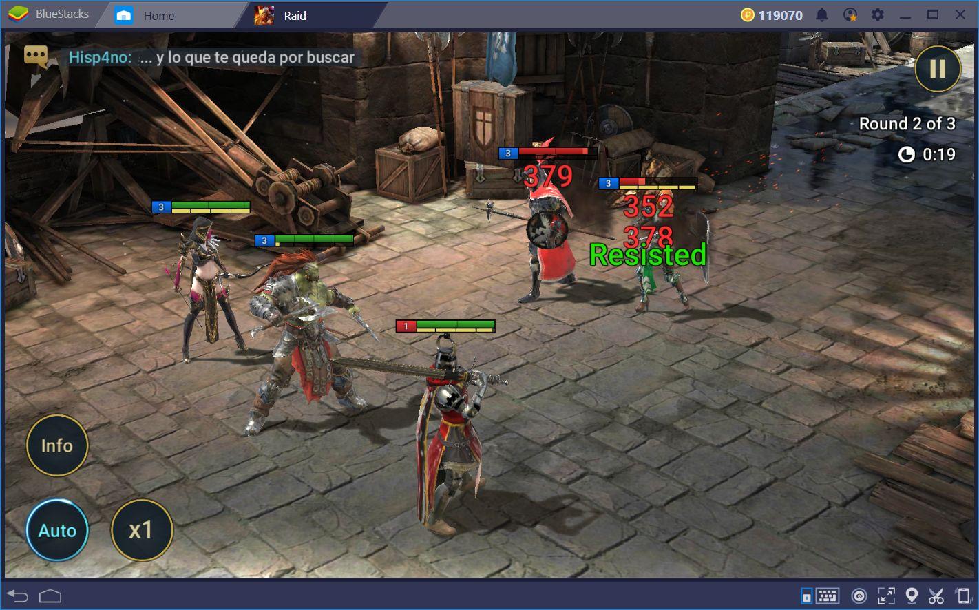 دليل لإعادة التدوير في RAID: Shadow Legends على الكمبيوتر باستخدام BlueStacks