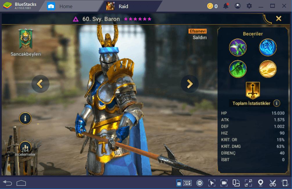Raid: Shadow Legends – Oyundaki En İyi Şampiyonlar Listesi