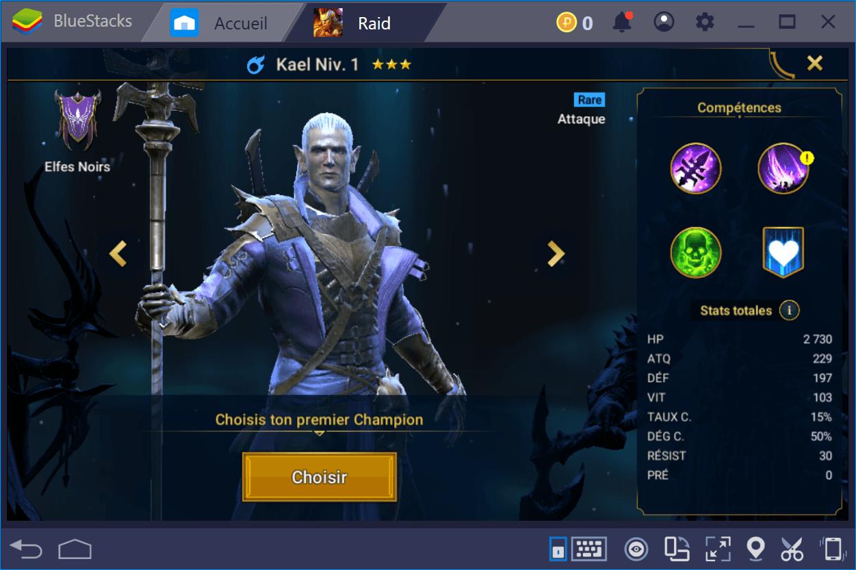 RAID: Shadow Legends – Choisir son premier champion et bien débuter