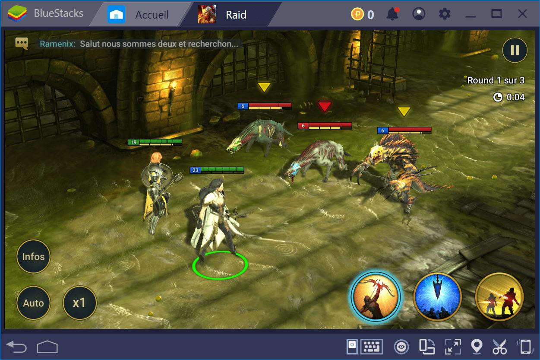 Comment faire du reroll dans RAID: Shadow Legends en utilisant BlueStacks