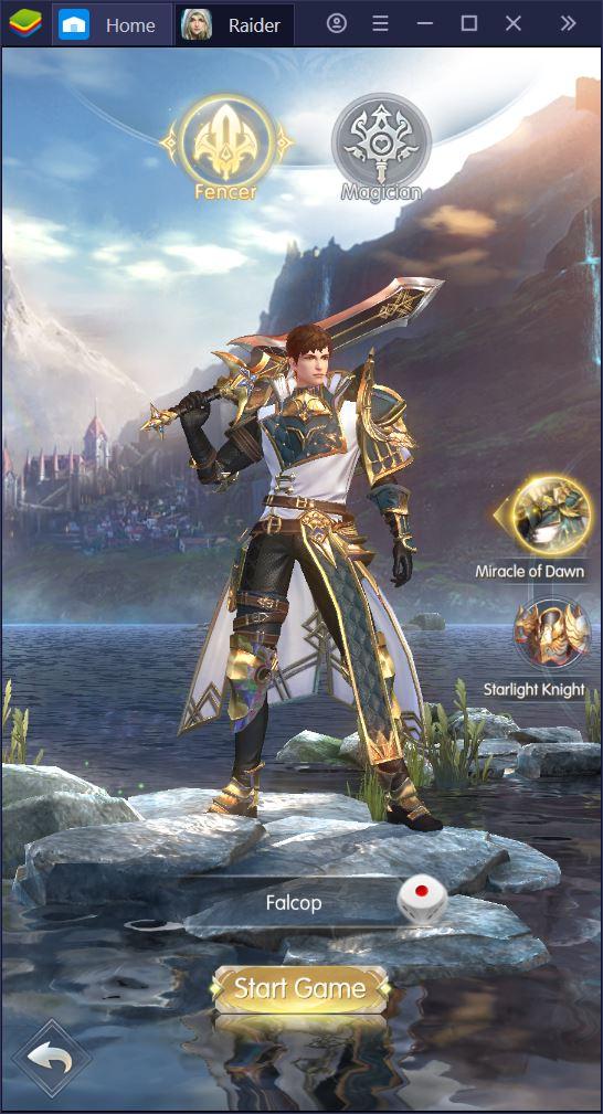 Le Basi di Raider: Origin, il nuovo vertical MMORPG