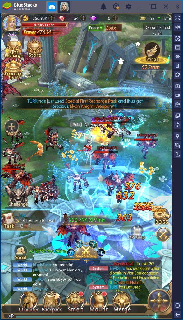 Acelera el Grindeo en Raider: Origin con BlueStacks