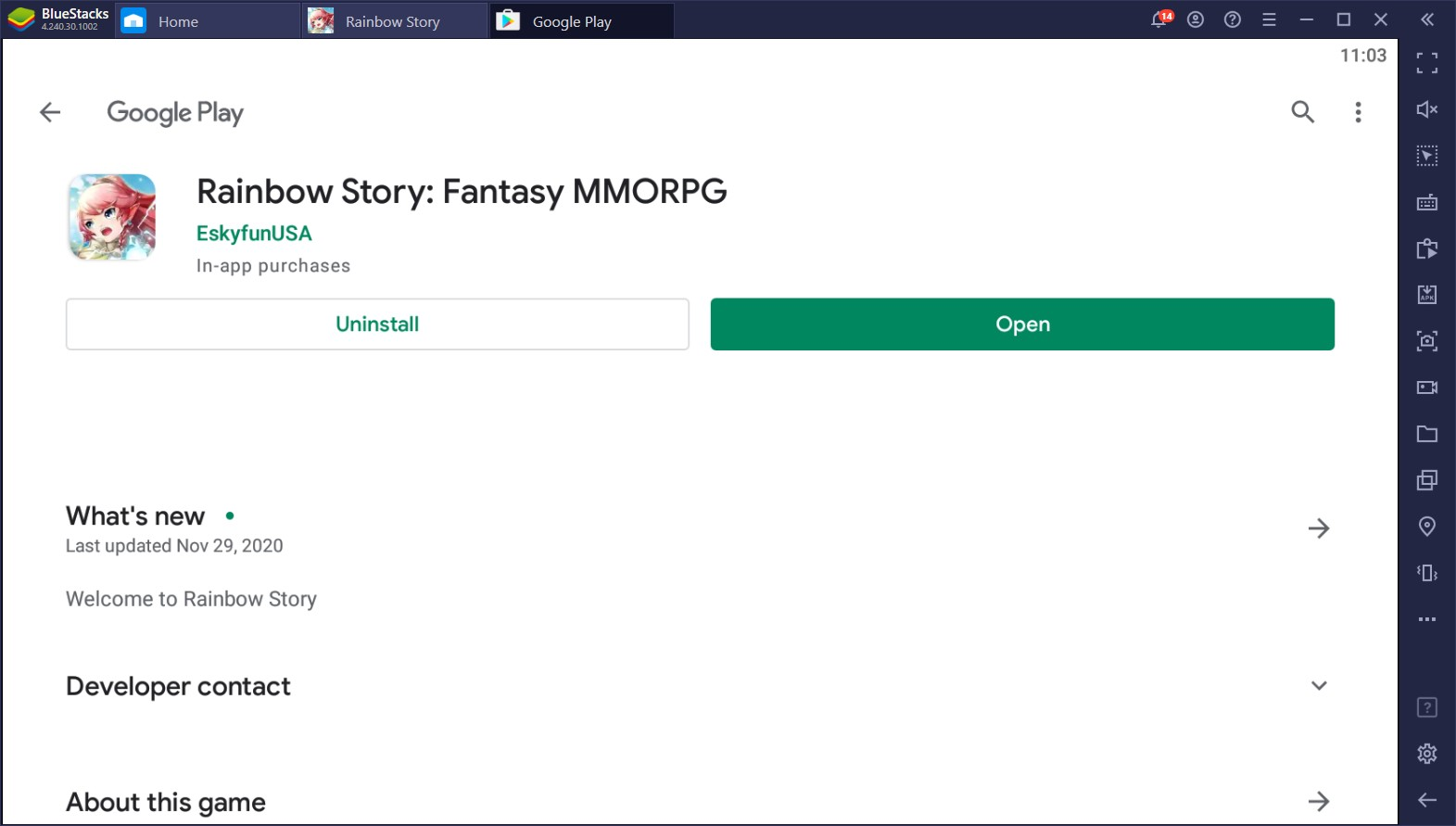 Rainbow Story – Enjoy This Sidescroller Fantasy MMORPG on PC With BlueStacks