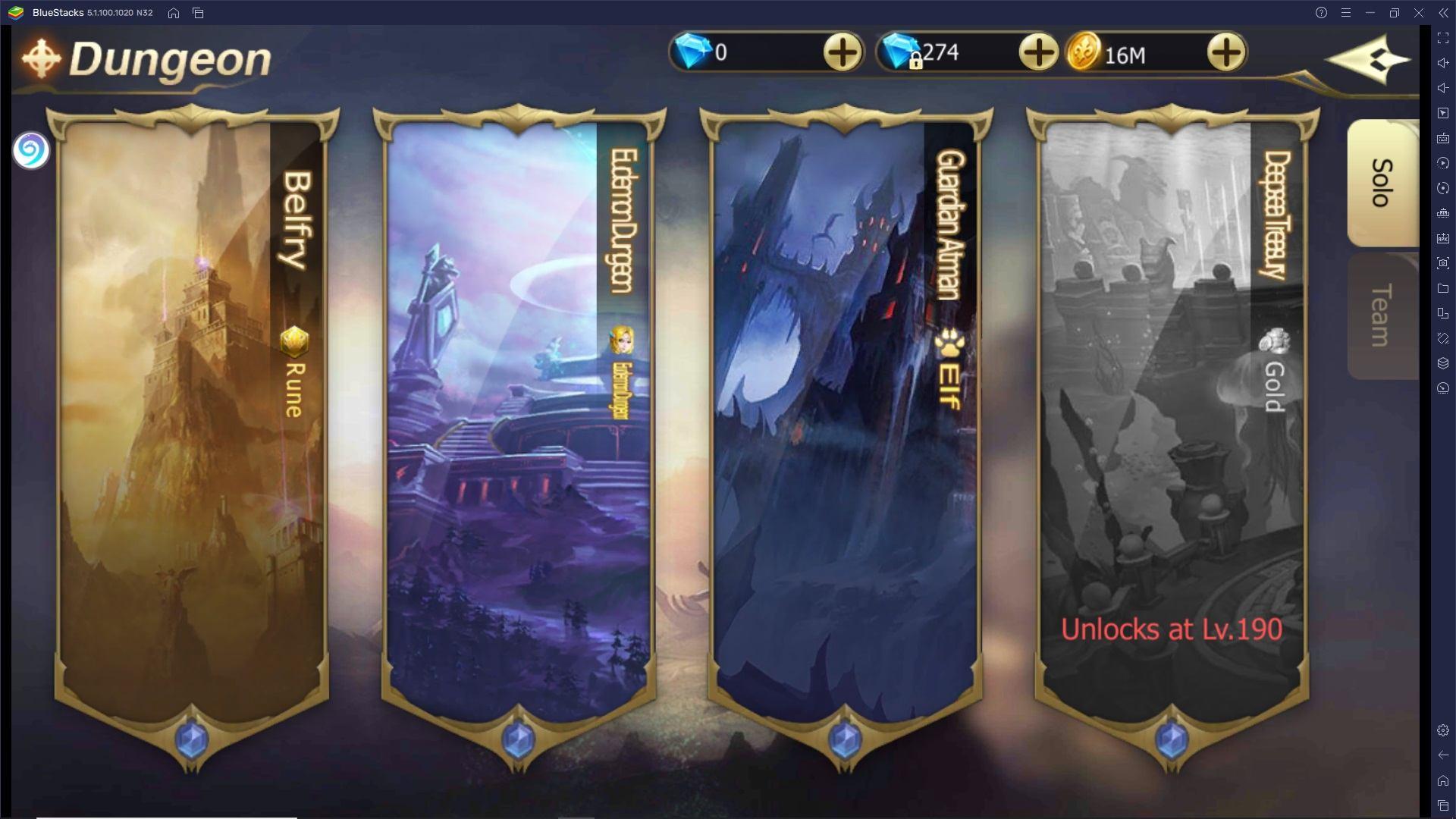 Come giocare Rebirth of Chaos: Eternal Saga su PC con BlueStacks
