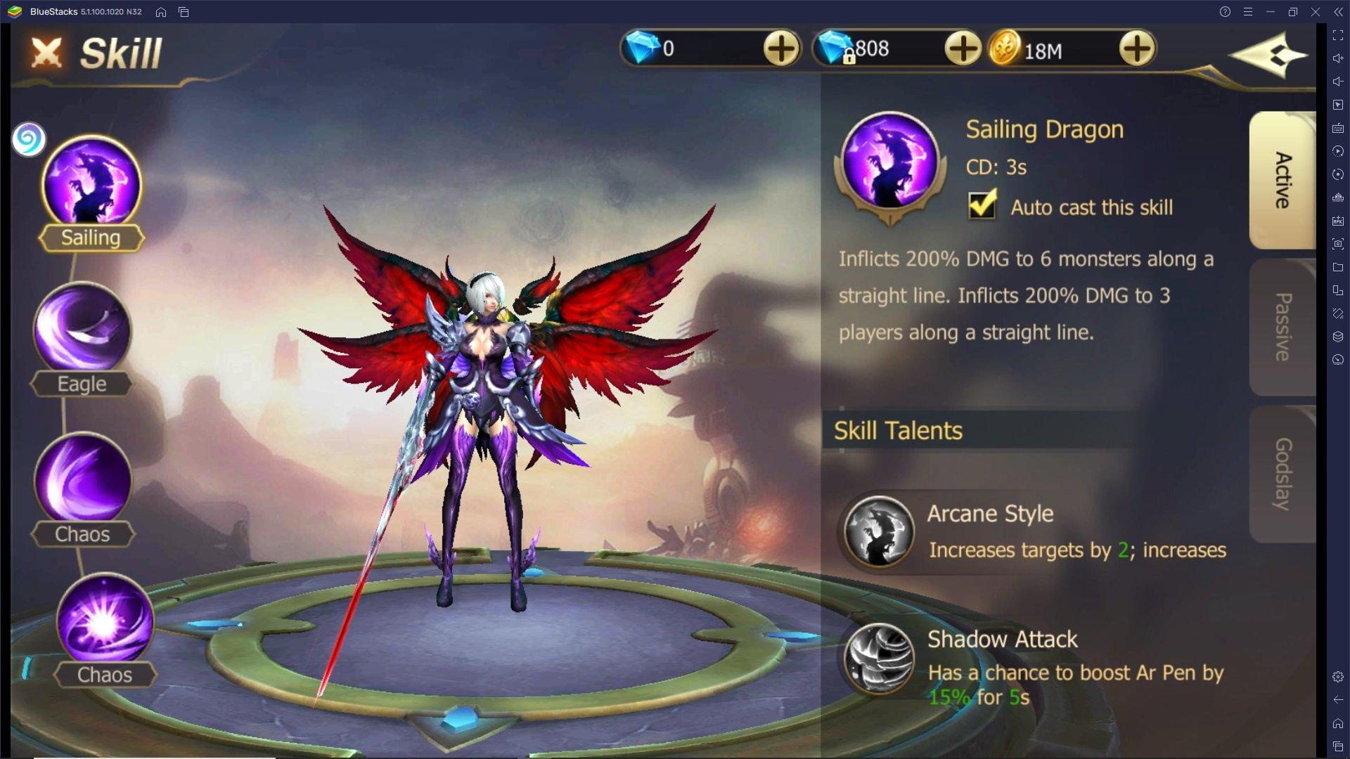 Guida per i nuovi giocatori di Rebirth of Chaos: Eternal Saga