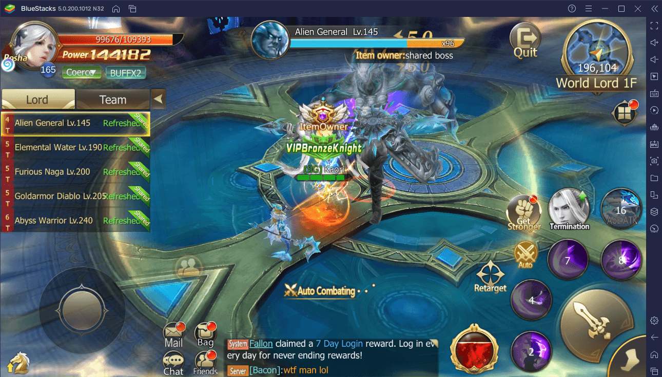 How to Play Rebirth of Chaos: Eternal Saga on Your PC with BlueStacks