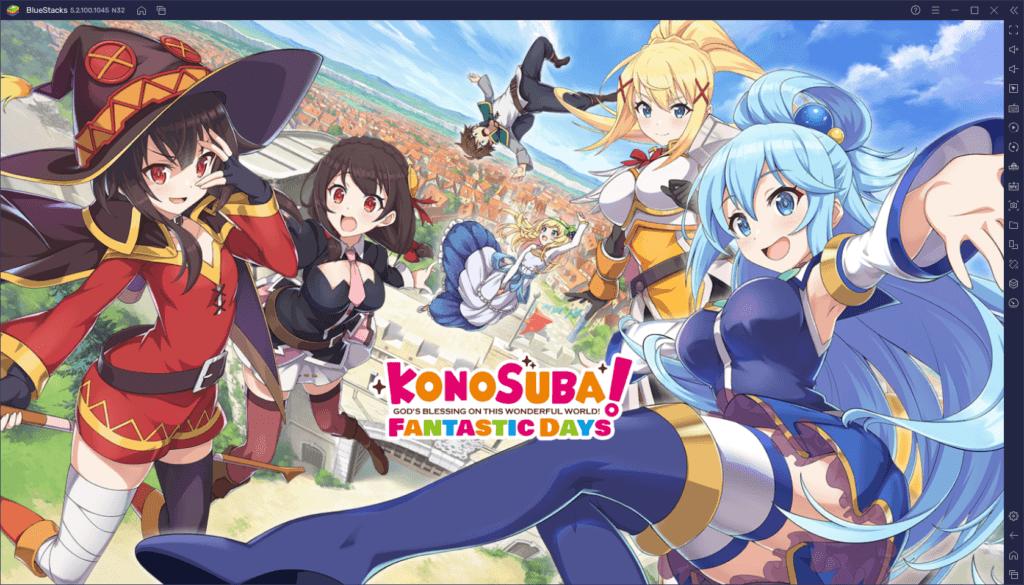 Reroll Leitfaden für KonoSuba: Fantastic Days – Wie du die besten Charaktere früh erhältst