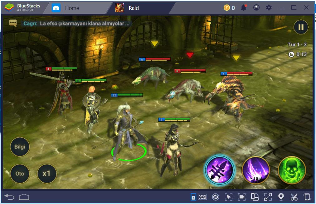 RAID: Shadow Legends – BlueStacks ile Görevleri Otomatik Olarak Tamamlama
