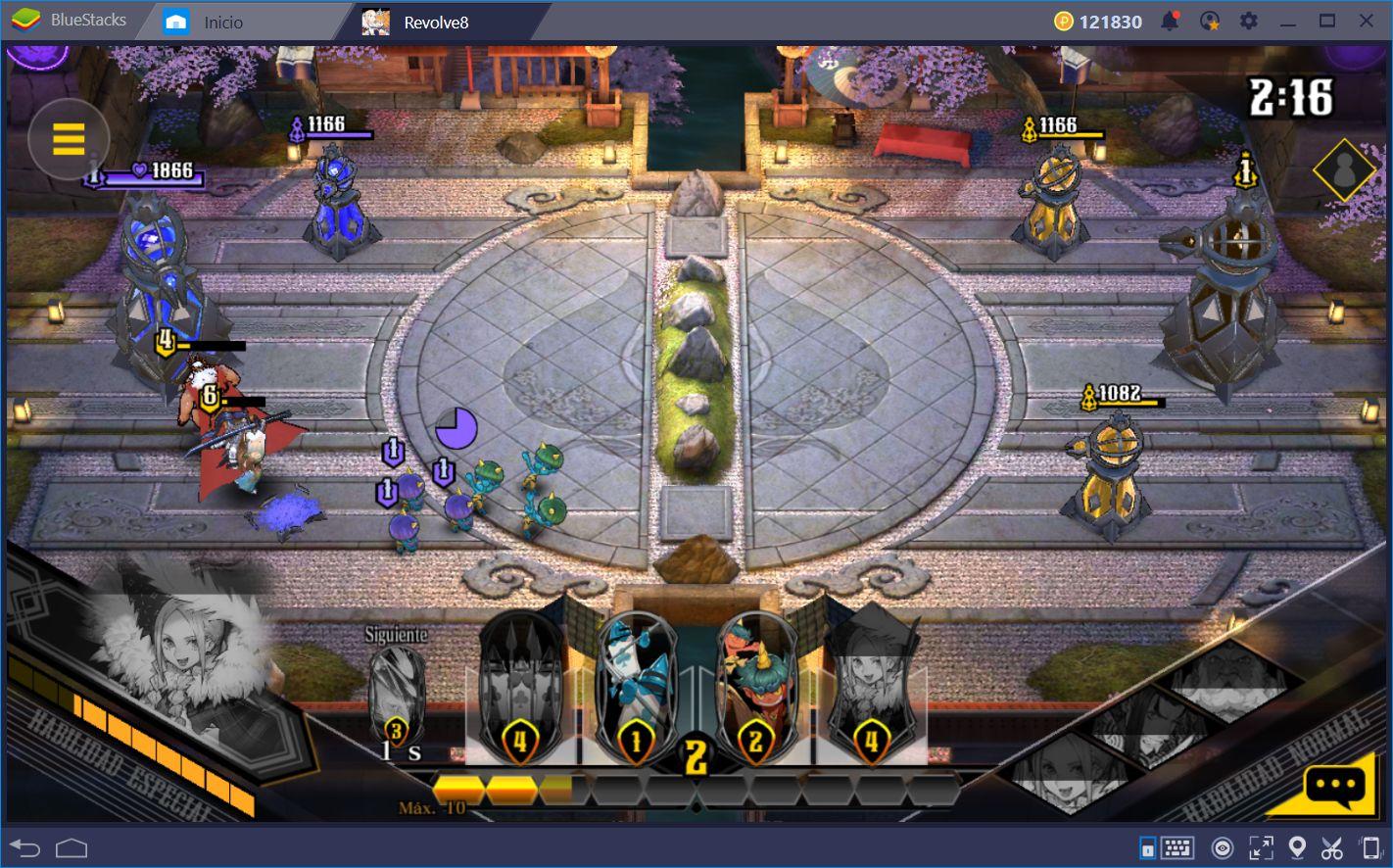 Descubre el Mundo de Fantasía de Revolve8 con BlueStacks