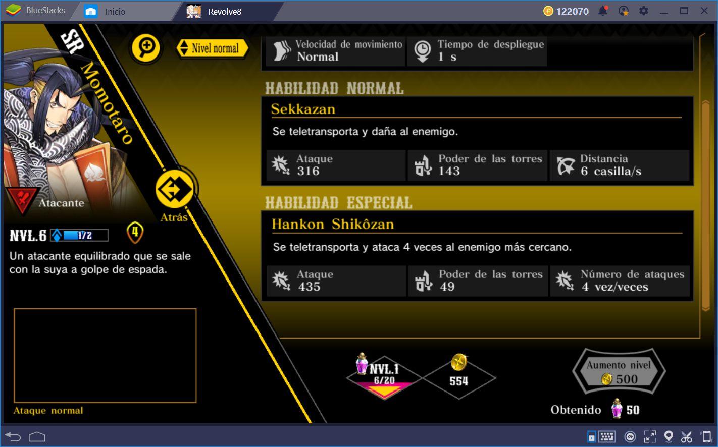 El Sistema de Combate de Revolve8, Explicado