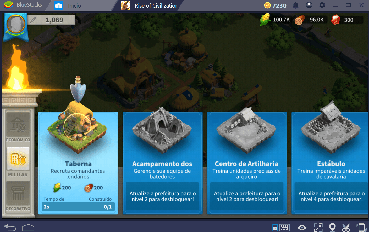 Conheça as construções e prédios de Rise of Kingdoms