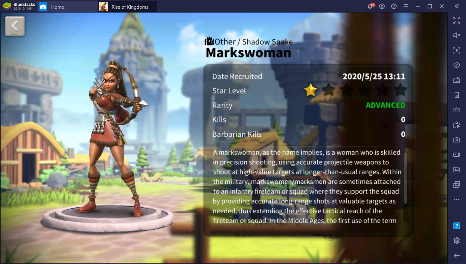 List of Elite and Advanced Commanders in Rise of Kingdoms