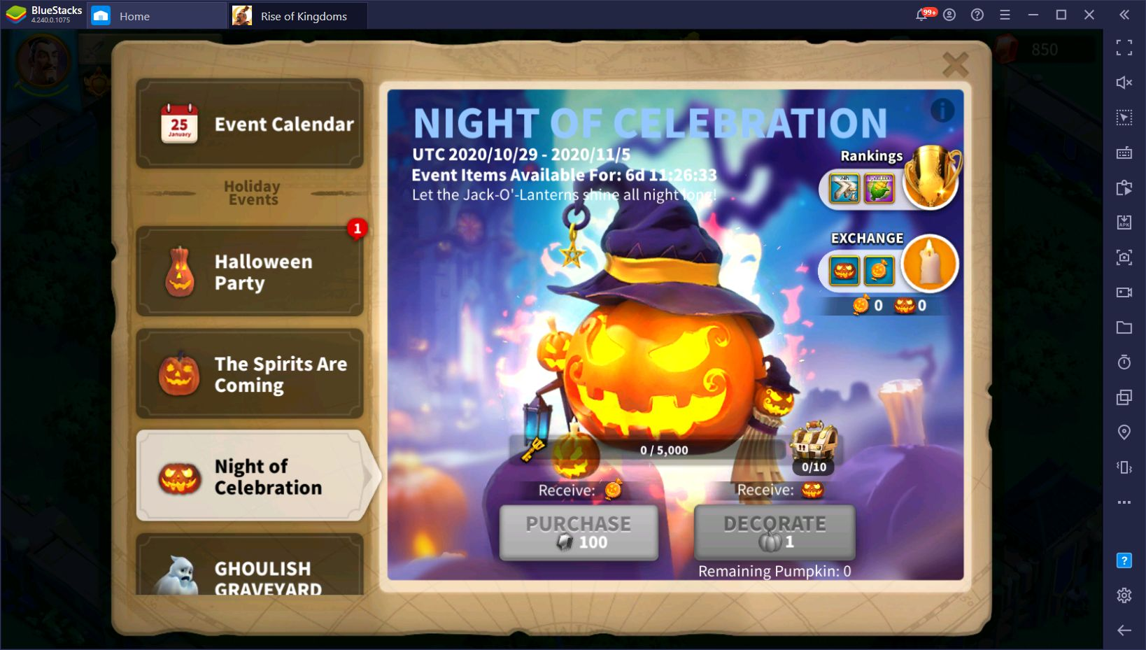 Rise of Kingdoms Halloween 2020 Event Guide – How to Participate and Obtain all the Loot