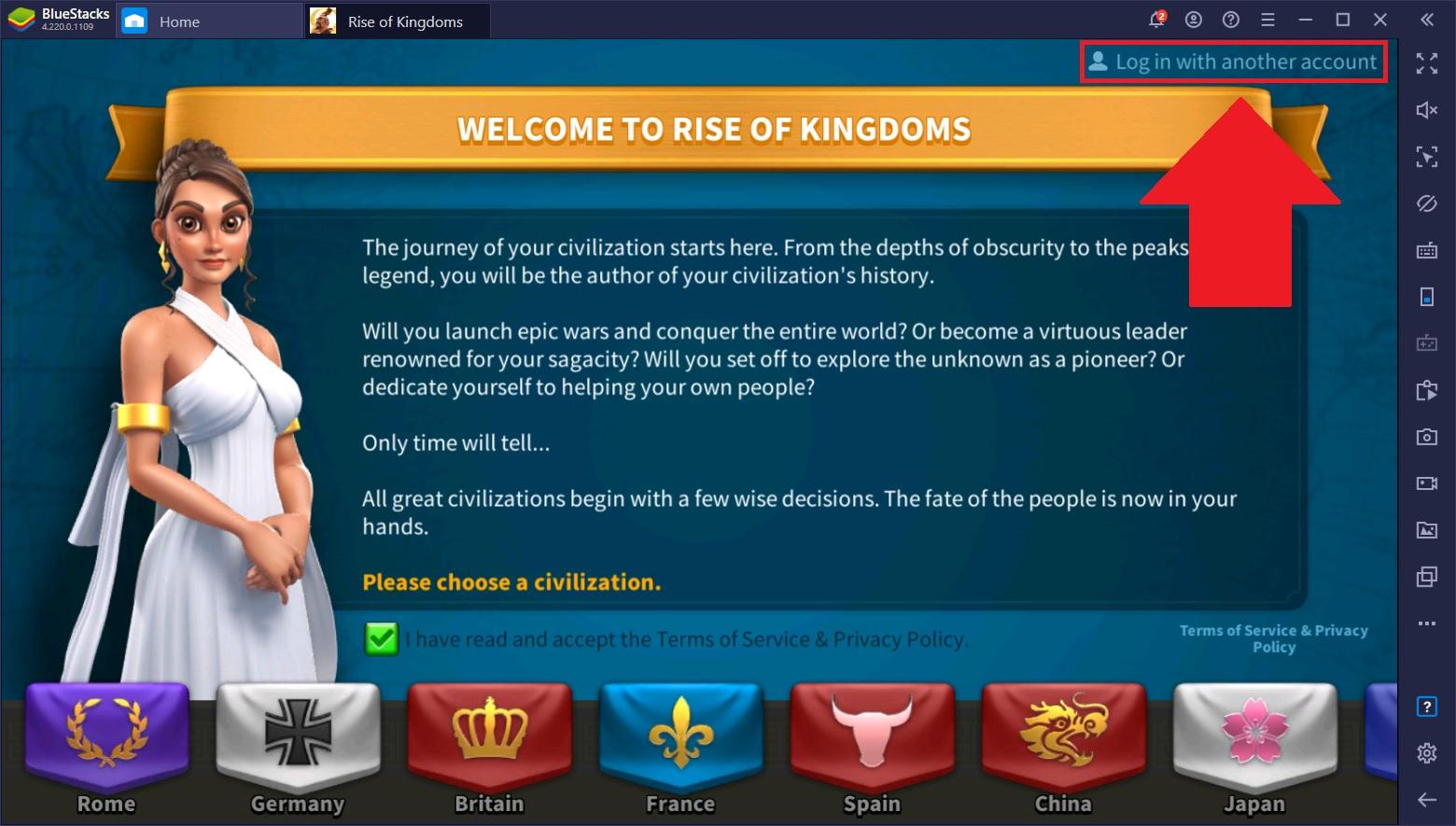 Rise of Kingdoms: Những vấn đề về tài khoản thường gặp khi chơi trên nhiều thiết bị