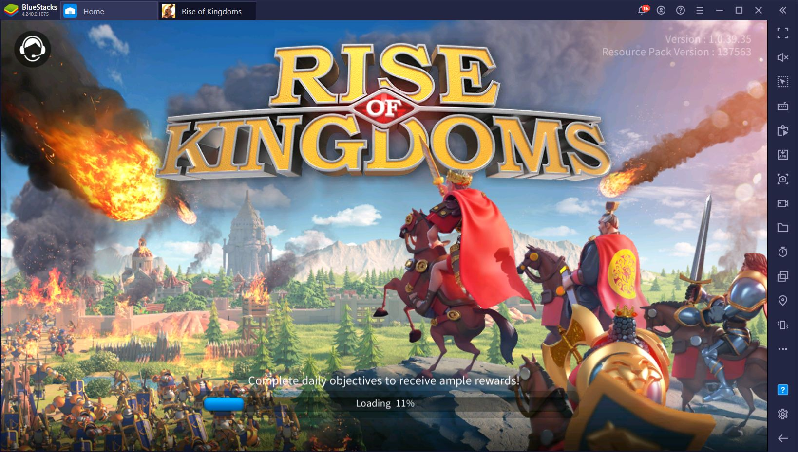 Rise of Kingdoms 1.0.39 Optimization Update Details