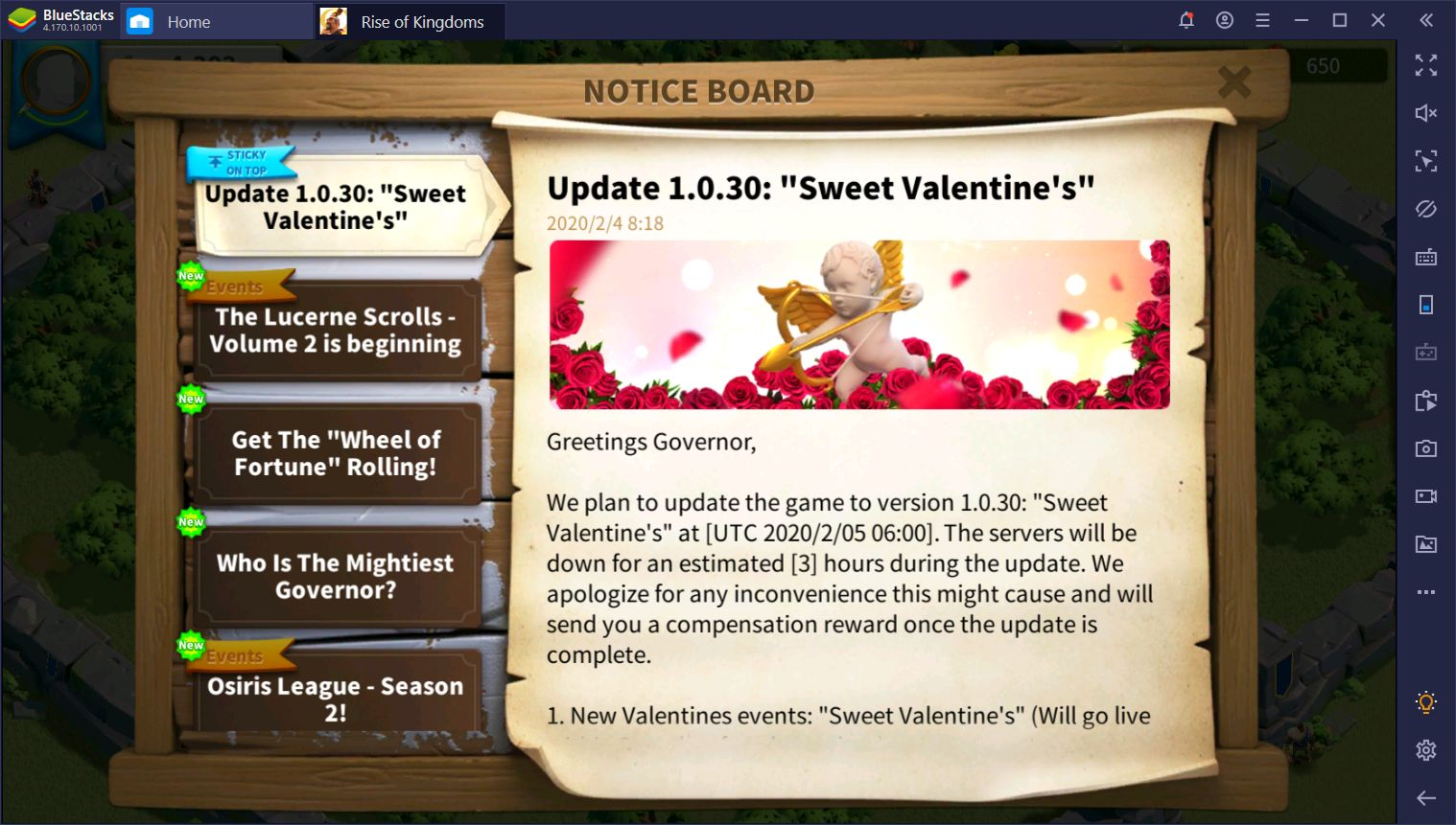 Rise of Kingdoms Sweet Valentine's Update - All You Need to Know About the New Patch