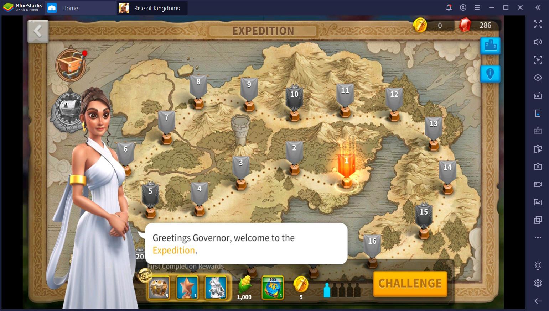 دليل المبتدئين لمعرفة كل شيء عن Rise of Kingdoms على جهاز الكمبيوتر