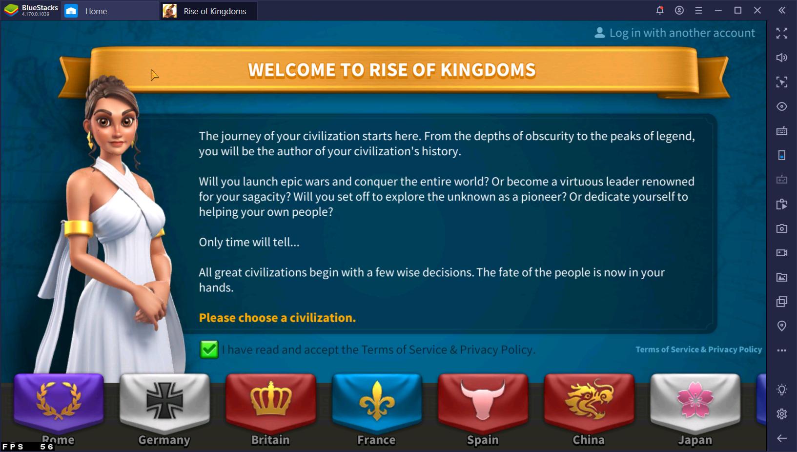 Rise of Kingdoms على جهاز الكمبيوتر – دليل شامل لجميع الحضارات